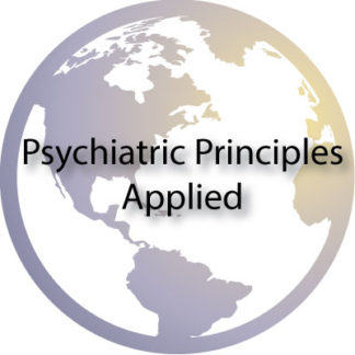 Psychiatric Principles Applied Recommended Audios